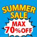 SUMMER SALE MAX70%OFF!