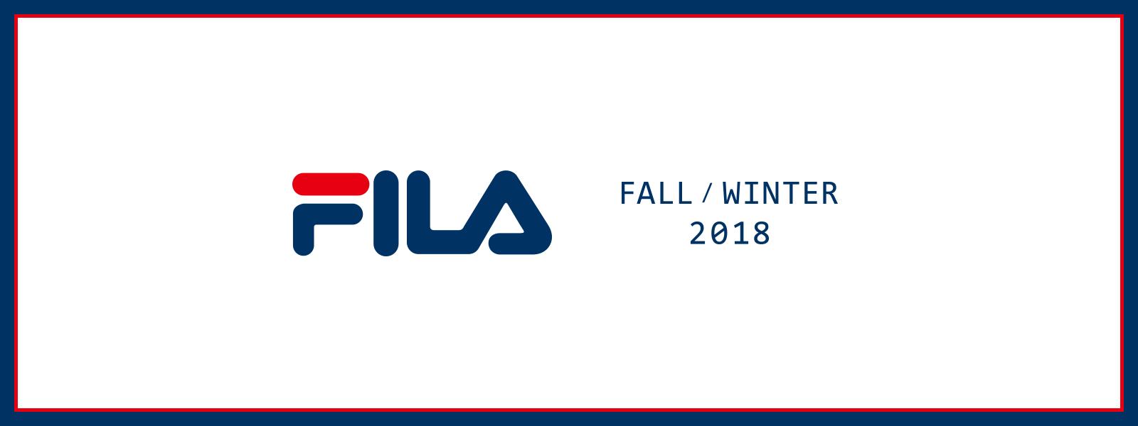 FILA 2018 FALL/WINTER