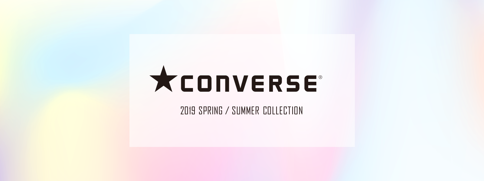CONVERSE 2019 Spring / Summer Collection