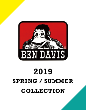 BEN DAVIS 2019 Spring / Summer Collection