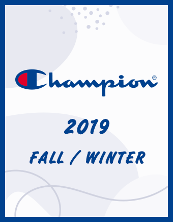CHAMPION 2019FALL/WINTER
